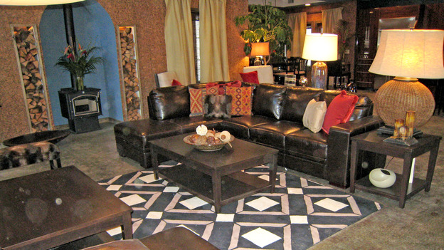 EXTREME MAKEOVER HOME EDITION - &quot;Collins Family,&quot; - Living Room, on &quot;Extreme Makeover Home Edition,&quot; Sunday, May 6th on the ABC Television Network.
