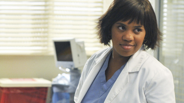 GREY'S ANATOMY - &quot;There's No 'I' in Team&quot; - Dr. Miranda Bailey, obviously pleased with herself, on &quot;Grey's Anatomy,&quot; THURSDAY, OCTOBER 23 (9:00-10:01 p.m., ET) on the ABC Television Network.  (ABC/ERIC MCCANDLESS) CHANDRA WILSON