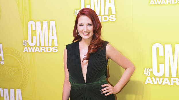 THE 46TH ANNUAL CMA AWARDS - RED CARPET ARRIVALS - &quot;The 46th Annual CMA Awards&quot; airs live THURSDAY, NOVEMBER 1 (8:00-11:00 p.m., ET) on ABC live from the Bridgestone Arena in Nashville, Tennessee. (ABC/SARA KAUSS)KATIE ARMIGER
