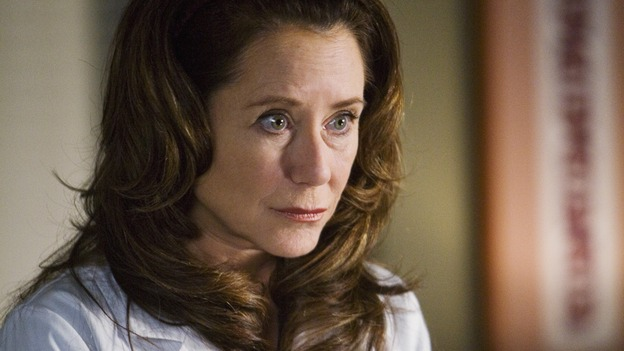 "GREY'S ANATOMY - ""Beat Your Heart Out"" - Dr. Virginia Dixon, on ""Grey's Anatomy,"" THURSDAY, FEBRUARY 5 (9:00-10:02 p.m., ET) on the ABC Television Network. (ABC/RANDY HOLEMES) MARY MCDONNELL"