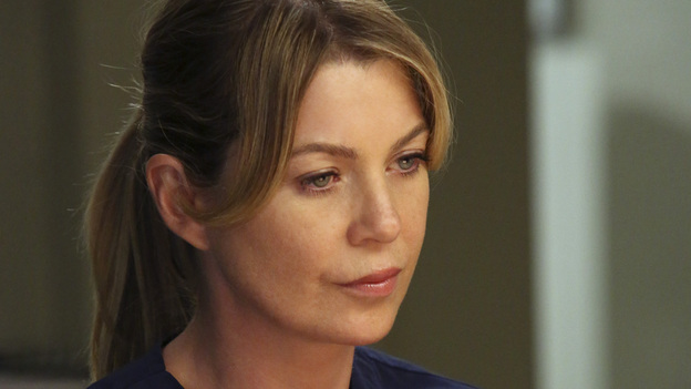 "GREY'S ANATOMY - ""Going Going Gone"" - The doctors of Seattle Grace are faced with the aftermath of last season's plane crash. As they try to move on with their lives, they must learn to adapt to the changes, cope with their losses and move forward with their relationships and careers, on the ninth-season premiere of ""Grey's Anatomy,"" THURSDAY, SEPTEMBER 27 (9:00-10:02 p.m., ET) on the ABC Television Network. (ABC/DANNY FELD)ELLEN POMPEO"