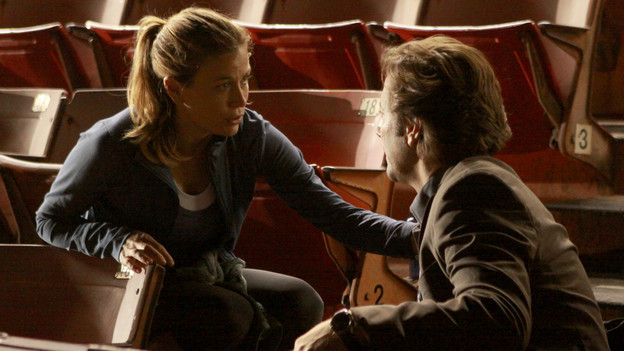 "LOST - ""Happily Ever After"" - Desmond wakes up to discover he's back on the island, on ""Lost,"" TUESDAY, APRIL 6 (9:00-10:02 p.m., ET) on the ABC Television Network. (ABC/MARIO PEREZ) SONYA WALGER, HENRY IAN CUSICK"