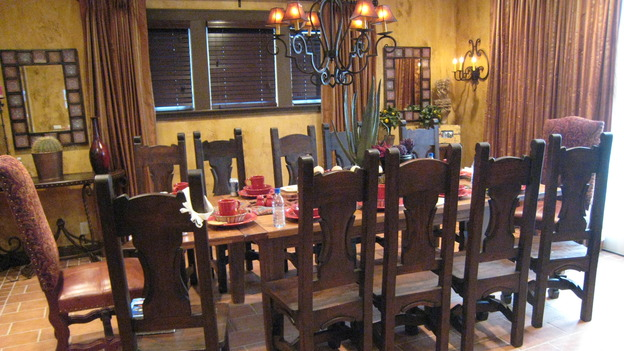 "EXTREME MAKEOVER HOME EDITION - ""Jacobo Family"" - Dining Room, on ""Extreme Makeover Home Edition,"" Sunday, May 13th on the ABC Television Network."