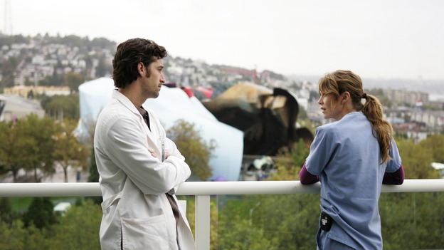 "GREY'S ANATOMY - ""Thanks for the Memories"" (ABC/CRAIG SJODIN) PATRICK DEMPSEY, ELLEN POMPEO"