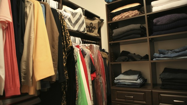 "EXTREME MAKEOVER HOME EDITION - ""Hill Family,"" - Closet Room, on ""Extreme Makeover Home Edition,"" Sunday, October 11th on the ABC Television Network."