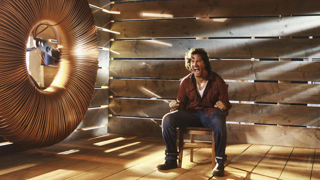 "LOST - ""Happily Ever After"" - Desmond wakes up to discover he's back on the island, on ""Lost,"" TUESDAY, APRIL 6 (9:00-10:02 p.m., ET) on the ABC Television Network. (ABC/MARIO PEREZ)HENRY IAN CUSICK"