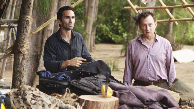 "LOST - ""The Package"" - Sun and Jin desperately continue their search for one another, and Locke confronts his enemy, on ""Lost,"" TUESDAY, MARCH 30 (9:00-10:02 p.m., ET) on the ABC Television Network. (ABC/MARIO PEREZ)NESTOR CARBONELL, MICHAEL EMERSON"