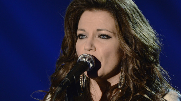 "THE 45th ANNUAL CMA AWARDS - THEATRE - ""The 45th Annual CMA Awards"" broadcast live on ABC from the Bridgestone Arena in Nashville on WEDNESDAY, NOVEMBER 9 (8:00-11:00 p.m., ET). (ABC/KATHERINE BOMBOY-THORNTON)MARTINA MCBRIDE"