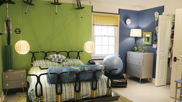 "EXTREME MAKEOVER HOME EDITION - ""Tripp Johnson Family,"" - Boy's Bedroom, on ""Extreme Makeover Home Edition,"" Sunday, November 20th on the ABC Television Network."