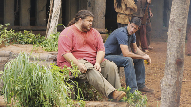 "LOST - ""Lighthouse"" - Hurley must convince Jack to accompany him on an unspecified mission, and Jin stumbles across an old friend, on ""Lost,"" TUESDAY, FEBRUARY 23 (9:00-10:00 p.m., ET) on the ABC Television Network. (ABC/MARIO PEREZ)JORGE GARCIA, MATTHEW FOX"
