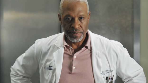 "GREY'S ANATOMY - ""Here Comes the Flood"" - A plumbing leak becomes a deluge and wreaks havoc at Seattle Grace, as the Chief attempts to implement new teaching policies and George tries to retake his residency exam; meanwhile Derek hopes to move the roommates out of Meredith's house, to their surprise, on ""Grey's Anatomy,"" THURSDAY, OCTOBER 9 (9:00-10:01 p.m., ET) on the ABC Television Network. (ABC/ERIC McCANDLESS)JAMES PICKENS JR."