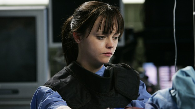 "GREY'S ANATOMY - ""It's the End of the World (As We Know It)"" (ABC/PETER ""HOPPER"" STONE)CHRISTINA RICCI"