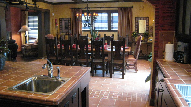 "EXTREME MAKEOVER HOME EDITION - ""Jacobo Family"" - Kitchen/Dining Room, on ""Extreme Makeover Home Edition,"" Sunday, May 13th on the ABC Television Network."