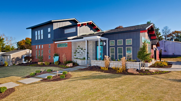 "EXTREME MAKEOVER HOME EDITION - ""Graham Family,"" - Exterior Picture,  on ""Extreme Makeover Home Edition,"" Sunday, January 23rd (8:00-9:00  p.m. ET/PT) on the ABC Television Network."