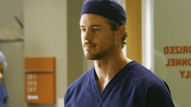 GREY'S ANATOMY - &quot;Rise Up&quot; - Dr.&nbsp;Mark Sloan prepares for surgery, on &quot;Grey's Anatomy,&quot; THURSDAY, NOVEMBER 6 (9:00-10:01 p.m., ET) on the ABC Television Network. (ABC/SCOTT GARFIELD) ERIC DANE