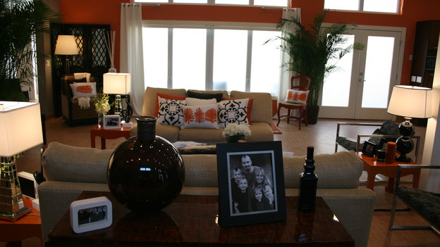 "EXTREME MAKEOVER HOME EDITION - ""Wagstaff Family,"" - Living Room, on ""Extreme Makeover Home Edition,"" Sunday, February 21st on the ABC Television Network."