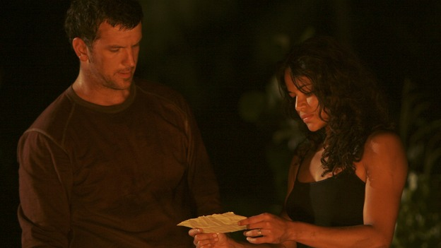 "LOST - ""The Other 48 Days"" (ABC/MARIO PEREZ)JOSH RANDALL, MICHELLE RODRIGUEZ"