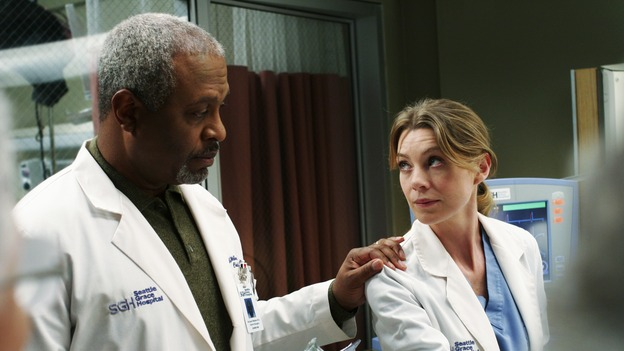 "GREY'S ANATOMY - ""Break On Through"" (ABC/RON TOM)JAMES PICKENS, JR., ELLEN POMPEO"