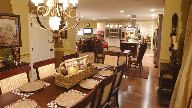 EXTREME MAKEOVER HOME EDITION - &quot;Harris Family,&quot; - Dining Room, on &quot;Extreme Makeover Home Edition,&quot; Sunday, May 6th on the ABC Television Network.