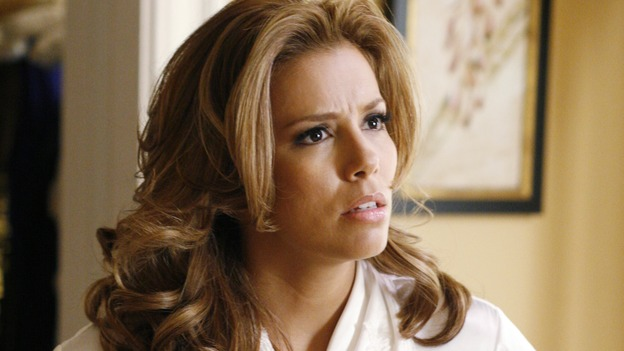 "DESPERATE HOUSEWIVES - ""Sweetheart, I Have to Confess"" - Gaby and Carlos try to rekindle their love, on ""Desperate Housewives,"" SUNDAY, OCTOBER 29 (9:00-10:01 p.m., ET) on the ABC Television Network. (ABC/RON TOM) EVA LONGORIA"