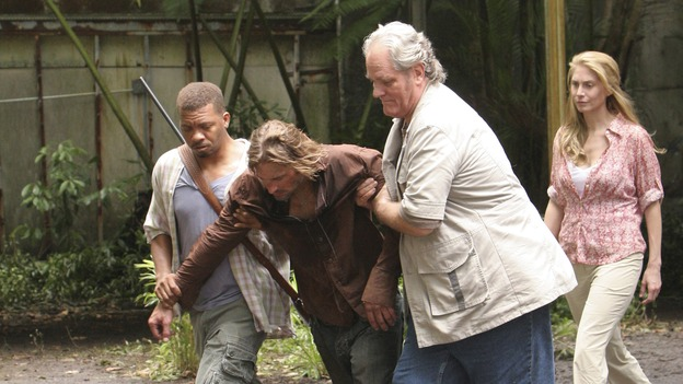 "LOST -- ""Lost"" - awarded the 2005 Emmy and 2006 Golden Globe for best drama series - is back for a third season of action-packed mystery and adventure that will continue to bring out the very best and the very worst in the people who are lost. In the season premiere episode, ""A Tale of Two Cities,"" Jack, Kate and Sawyer begin to discover what they are up against as prisoners of ""The Others."" The season premiere airs WEDNESDAY, OCTOBER 4 (9:00-10:01 p.m., ET), on the ABC Television Network. (ABC/MARIO PEREZ)EXTRA, JOSH HOLLOWAY, M.C. GAINEY, ELIZABETH MITCHELL"