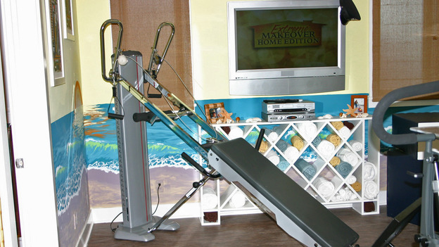 "EXTREME MAKEOVER HOME EDITION - ""Ripatti Family,"" - Workout Room, on ""Extreme Makeover Home Edition,"" Sunday, December 10th on the ABC Television Network."