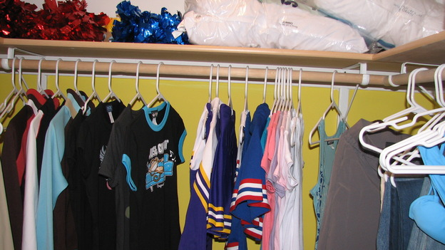 "EXTREME MAKEOVER HOME EDITION - ""Rogers Family,"" - Closet, on ""Extreme Makeover Home Edition,"" Sunday, September 24th on the ABC Television Network."