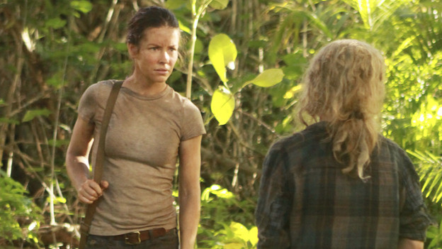 "LOST - ""Recon"" - Locke tasks Sawyer with a mission, on ""Lost,"" TUESDAY, MARCH 23 (9:00-10:00 p.m., ET) on the ABC Television Network.  (ABC/MARIO PEREZ)EVANGELINE LILLY, EMILIE DE RAVIN"