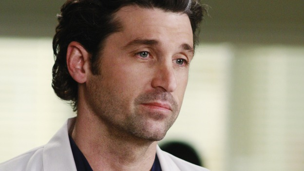 GREY'S ANATOMY - &quot;Before and After&quot; - Dr.&nbsp;Derek Shepherd, on &quot;Grey's Anatomy,&quot; THURSDAY, FEBRUARY 12 (9:00-10:02 p.m., ET) on the ABC Television Network. (ABC/RON TOM) PATRICK DEMPSEY
