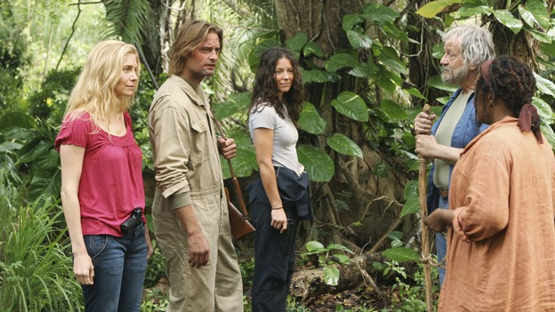 LOST - &quot;The Incident,&quot; Parts 1 &amp; 2 - Jack's decision to put a plan in action in order to set things right on the island is met with some strong resistance by those close to him, and Locke assigns Ben a difficult task, on the season finale of &quot;Lost,&quot; WEDNESDAY, MAY 13 (9:00-11:00 p.m., ET) on the ABC Television Network. (ABC/MARIO PEREZ)ELIZABETH MITCHELL, JOSH HOLLOWAY, EVANGELINE LILLY, SCOTT ANDERSON, L. SCOTT CALDWELL