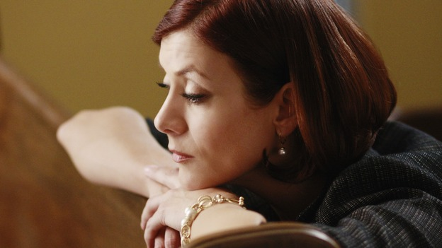 "GREY'S ANATOMY - ""Before and After"" - Addison prays for Archer in the chapel, on ""Grey's Anatomy,"" THURSDAY, FEBRUARY 12 (9:00-10:02 p.m., ET) on the ABC Television Network. (ABC/RON TOM) KATE WALSH"
