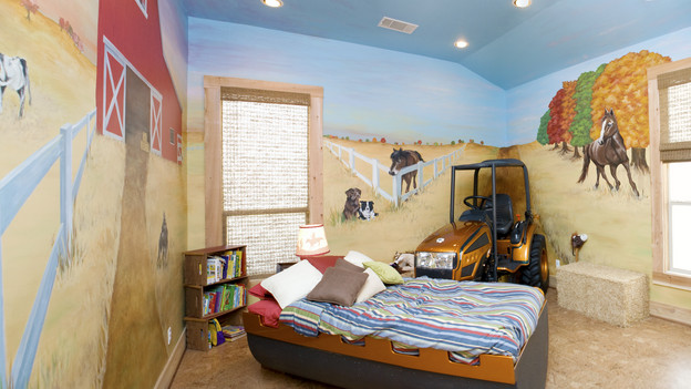 "EXTREME MAKEOVER HOME EDITION - ""Marshall Family,"" - Boy's Bedroom, on ""Extreme Makeover Home Edition,"" Sunday, October 18th (8:00-9:00 p.m. ET/PT) on the ABC Television Network."