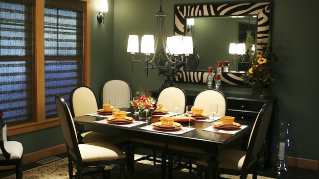 "EXTREME MAKEOVER HOME EDITION - ""Kirkwood Family,"" - Dining Room, on ""Extreme Makeover Home Edition,"" Sunday, January 15th on the ABC Television Network."
