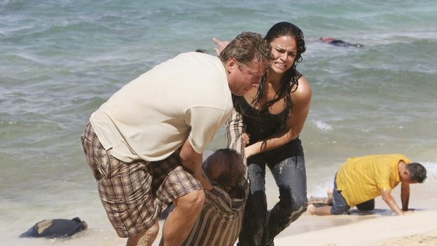 "LOST - ""The Other 48 Days"" (ABC/MARIO PEREZ)GLENN LEHMANN, MICHELLE RODRIGUEZ"