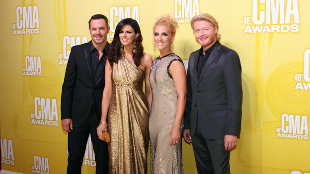 "THE 46TH ANNUAL CMA AWARDS - RED CARPET ARRIVALS - ""The 46th Annual CMA Awards"" airs live THURSDAY, NOVEMBER 1 (8:00-11:00 p.m., ET) on ABC live from the Bridgestone Arena in Nashville, Tennessee. (ABC/SARA KAUSS)LITTLE BIG TOWN"