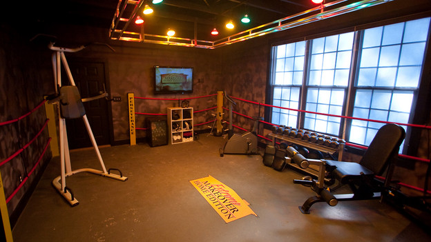 "EXTREME MAKEOVER HOME EDITION - ""Suggs Family,"" - The Workout Room, on ""Extreme Makeover Home Edition,"" Sunday, April 11th (8:00-9:00 p.m. ET/PT) on the ABC Television Network."