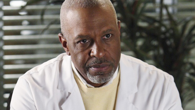 "GREY'S ANATOMY - ""I Will Follow You into the Dark"" - Dr. Richard Webber aka the Chief, on ""Grey's Anatomy,"" THURSDAY, MARCH 12 (9:00-10:02 p.m., ET) on the ABC Television Network. (ABC/CRAIG SJODIN) JAMES PICKENS JR."