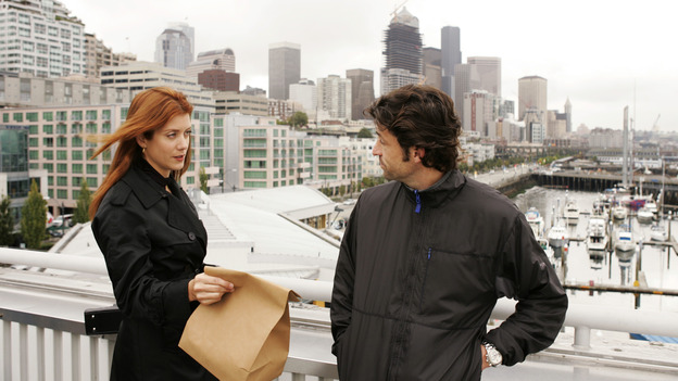 "GREY'S ANATOMY - ""Something to Talk About"" (ABC/CRAIG SJODIN)KATE WALSH, PATRICK DEMPSEY"