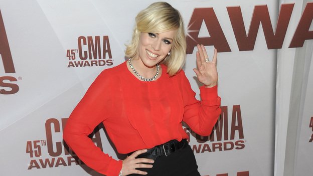 "THE 45th ANNUAL CMA AWARDS - RED CARPET ARRIVALS - ""The 45th Annual CMA Awards"" will broadcast live on ABC from the Bridgestone Arena in Nashville on WEDNESDAY, NOVEMBER 9 (8:00-11:00 p.m., ET). (ABC/JASON KEMPIN)NATASHA BEDINGFIELD"