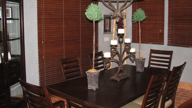 "EXTREME MAKEOVER HOME EDITION - ""Martinez Family,"" - Dining Room, on ""Extreme Makeover Home Edition,"" Sunday, April 27th on the ABC Television Network."