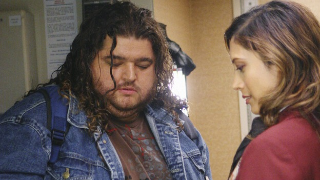 "LOST - ""316"" - Hurley boards Ajira Airways 316 in an attempt to return to the island on ""Lost,"" WEDNESDAY, FEBRUARY 18 on the ABC Television Network. (ABC/MARIO PEREZ) JORGE GARCIA, KAVITA PATIL"