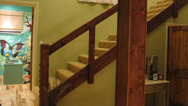 EXTREME MAKEOVER HOME EDITION - &quot;Rogers Family,&quot; - Stairwell, on &quot;Extreme Makeover Home Edition,&quot; Sunday, September 24th on the ABC Television Network.