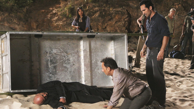 LOST - &quot;LA X&quot; - &quot;Lost&quot; returns for its final season of action-packed mystery and adventure -- that will continue to bring out the very best and the very worst in the people who are lost -- on the season premiere of &quot;Lost,&quot; TUESDAY, FEBRUARY 2 (9:00-11:00 p.m., ET) on the ABC Television Network. On the season premiere episode, &quot;LA X&quot; Parts 1 &amp; 2, the aftermath from Juliet's detonation of the hydrogen bomb is revealed. (ABC/MARIO PEREZ)TERRY O'QUINN, MICHAEL EMERSON, NESTOR CARBONELL