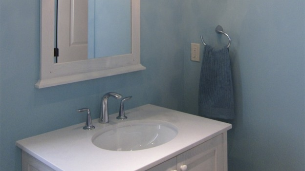 EXTREME MAKEOVER HOME EDITION - &quot;Gomez Family,&quot; - Bathrooms  Picture,  on   &quot;Extreme Makeover Home Edition,&quot; Sunday, October 2nd     (8:00-9:00   p.m.  ET/PT) on the ABC Television Network.