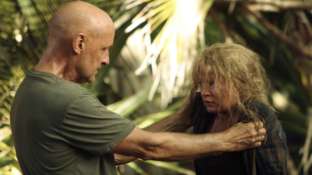 "LOST - ""Recon"" - Locke tasks Sawyer with a mission, on ""Lost,"" TUESDAY, MARCH 23 (9:00-10:00 p.m., ET) on the ABC Television Network.  (ABC/MARIO PEREZ)TERRY O'QUINN, EMILIE DE RAVIN"