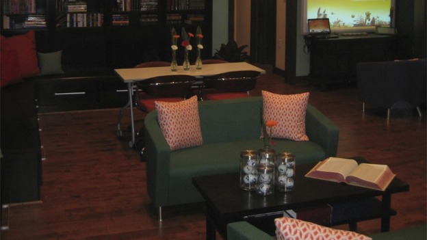 "EXTREME MAKEOVER HOME EDITION - ""McFarland Family,"" - Living Room, on ""Extreme Makeover Home Edition,"" Sunday, May 17th on the ABC Television Network."