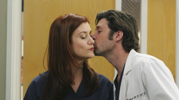 GREY'S ANATOMY - &quot;It's the End of the World (As We Know It)&quot;(ABC/KAREN NEAL)KATE WALSH, PATRICK DEMPSEY
