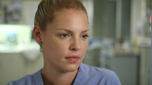 "GREY'S ANATOMY - ""INTO YOU LIKE A TRAIN"" (ABC/MICHAEL DESMOND) KATHERINE HEIGL"