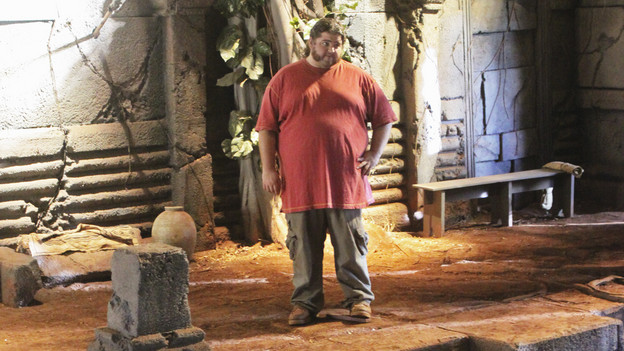 LOST - &quot;Lighthouse&quot; - Hurley must convince Jack to accompany him on an unspecified mission, and Jin stumbles across an old friend, on &quot;Lost,&quot; TUESDAY, FEBRUARY 23 (9:00-10:00 p.m., ET) on the ABC Television Network. (ABC/MARIO PEREZ)JORGE GARCIA