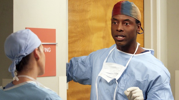 "GREY'S ANATOMY - ""It's the End of the World (As We Know It)"" (ABC/RICHARD CARTWRIGHT)ISAIAH WASHINGTON"